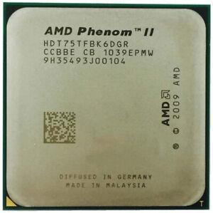 AMD Phenom II X6 1075T 1075 CPU/AM3/938pin/125W/3.0GHz/E0 Socket A