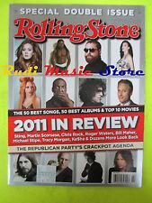 ROLLING STONE USA MAGAZINE 1147/2011 Bob Seger Questlove Louis C.K. No cd