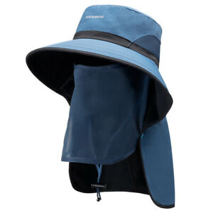 ROCKBROS Sun Hat Full Cover Mask Outdoor Fishing Cycling Summer Protection Cap