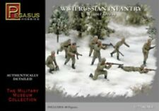 1/72 Scale Pegasus Hobbies Russian Infantry Winter Dress 40 Figure Kit #7269