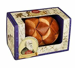 Darwin's Egg of Evolution Puzzle: Professor Puzzle Great Minds Wooden Puzzle