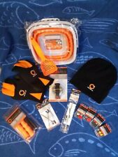 Ice Fishing, neoprene gloves, hat, jigs, cleats, safety kit, and more!
