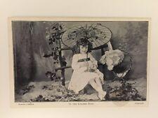 "Vintage Postcard - Landors Studies RP Child ""In the Golden Days"" - unused"