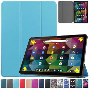 """Pattern Leather Smart Stand Case Cover for Lenovo Chromebook Duet 10.1"""" Tablet"""
