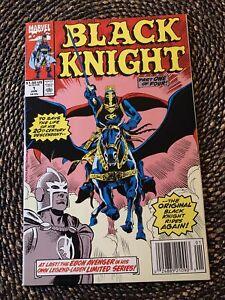 Black Knight #1 (1990) 1st Solo Dane Whitman Series  Newsstand NM Unpressed