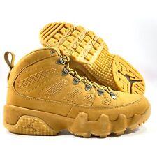 Nike Air Jordan 9 IX Retro Boot NRG Wheat Baroque Brown AR4491-700 Men's 8.5-9.5