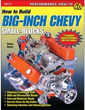 SA87P How to Build Big Inch Chevy Small Blocks Book Stroker 383 434 454 Inches