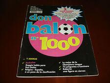 1994, DON BALON EXTRA N.1000 SUPERPOSTER ESCUDOS EQUIPOS 1ª.DIVISION Y EUROPEOS