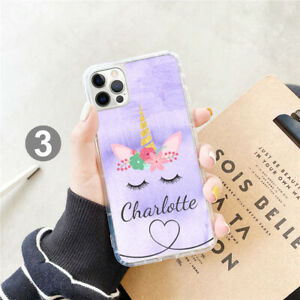 Personalised Unicorn Phone Case Cover For Apple Samsung iPhone GEL 208-3