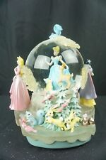 "Disney Fantasy Frost Princess Musical Light Up Snowglobe ""Once Upon A Dream"""