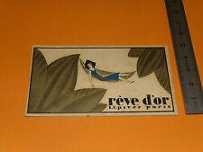 CHROMO 1936 L.T. PIVER REVE D'OR JEAN PAROT COIFFEUR LE COMPEIX CREUSE
