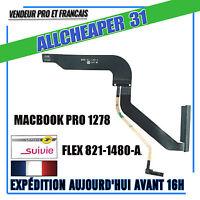 """Nappe connecteur Disque dur SATA  MACBOOK 13"""" a1278 Flex connecteur 821-1480-A"""