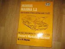 MORRIS MARINA SALOON & COUPE & VAN (1971-75) - OWNERS WORKSHOP MANUAL