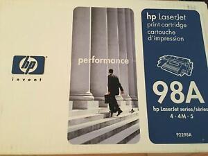 Genuine HP 98A 92298A Black Toner Cartridge Laserjet