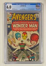 AVENGERS #9 Marvel Comics 1964 CGC 6.0 Wonder Man 1st Appearance Partial Origin