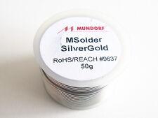 50g 8 5m Mundorf MSolder silver Or Audiophile soudure Argenté