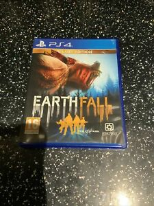 PLAYSTATION 4 PS4 GAME Earthfall Earth Fall
