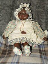 Sarah'S Attic Collectible Doll Sassafras Granny'S Favorite Girl In Dress & Bonne