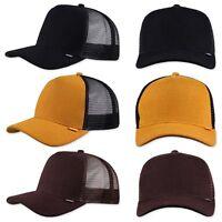 DJINNS Piki Leather Trucker Cap - Mütze Kappe Meshcap Basecap Neu Cappy Caps Hat