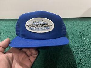"Scarce Early 1980'S Nascar International Series Mesh Snap Back Hat ""NEW"" H1"