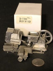 Lot square 660 round Baler Balers New Holland Pewter 100 years hit miss