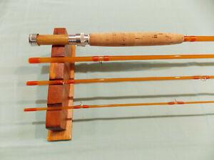 "Custom made fiberglass fly rod, small stream 7'7"" 4 wt."