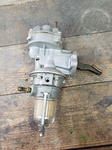 NOS Carter Fuel Pump M3531 USA 1963 1964 1965 AMC Rambler Dual Action Glass Bowl
