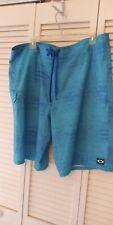 Oakley Board Shorts Mens 38 Blue Swim Trunks Surf w/ Pocket