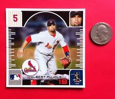 RARE - ALBERT PUJOLS Fan Pak Pack Standees 2009 #65 Mint Angels Cards