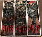 Rhys Cooper Pixies Band Concert Show 3 Print Set Lot Poster Mondo House Of Blues