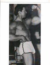 2x Mr Olympia LARRY SCOTT Muscle Bodybuilding Big Arm Photo B&W