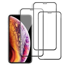 3x 5D Hartglas 9H für iPhone Xs MAX Displayschutzfolie Schutzpanzer Glasfolie