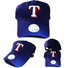 New Era Texas Rangers 9twenty Blue Adjustable strapback Cap Dad Daddy Woman Hat