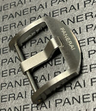 *Very Rare* 100% Authentic Panerai Thumbnail Brushed Tang Buckle 22mm