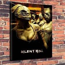 """SILENT Hill, stampato tela Profondo A1.30""""x20"""" ~ 30mm TELAIO HORROR V2"""