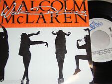 """7"""" - Malcom McLaren / Waltz Darling & Deep in Vogue - 1989 # 3706"""