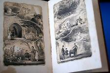 CHRISTMAS BERRIES FOR THE YOUNG & GOOD,LIVRE EN ANGLAIS,GRAVURES,CARTONNAGE