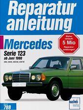 Mercedes 200 230 E CE TE Serie W123 6/88 Reparaturanleitung Reparatur-Handbuch