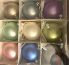 MoMA  Pantone Balls Matte Set Of 9 Mid Century Modern  Decor Ornaments 8 cm