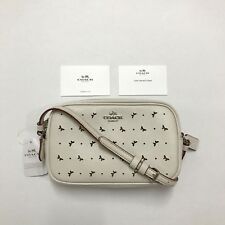 Coach * Butterfly Perf Leather Crossbody Sling Bag in Chalk COD PayPal