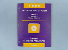 Powertrain Diag. Procedures, ABS Teves Brakes, 1996 Dodge/Chrysler, 81-699-95011