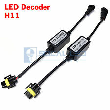 2x EMC H11 H8 Fog Light Canbus LED Decoder Load Resistors Warning Canceller