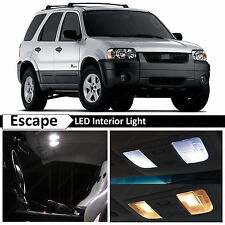 White Interior LED Lights Package Kit for 2001-2006 Ford Escape + TOOL