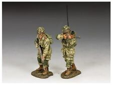 DD 285-2 WW2 US Paratroopers Covering Fire 101st Eagles Airborne D-Day Normandy