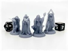 Cultists 28mm Dungeons and Dragons DnD Mini Townsfolk Npc