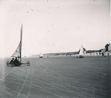 OSTENDE c. 1900-20 - Chars à Voile sur la Plage Belgique DIV 7235