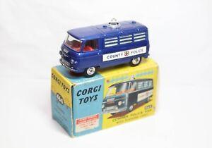 Corgi 464 Commer Police Van In Its Original Box - Excellent Vintage Model