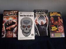 VHS Wrestling Lot
