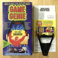 Game Genie Video Game Enhancer Nintendo NES W/ Box & Inserts Tested