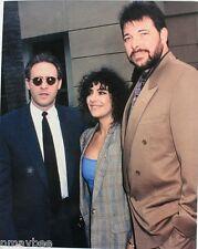 Brent Spiner, Jonathan Frakes & Marina Sirtis Star Trek TNG 8x10 Photo Un-Signed
